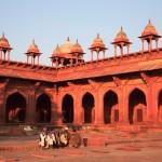 Inner courtyard of Jama Masjid. Fatehpur Sikri. Uttar Pradesh. India. thumbnail