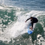 Surfer, Hermosa Beach, Los Angeles, California, USA thumbnail